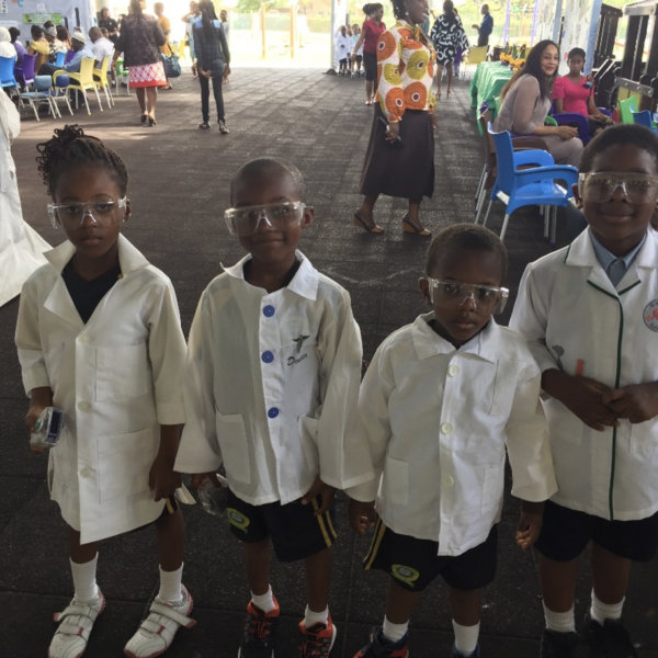 Meet the scientists from RA International School, Nigeria