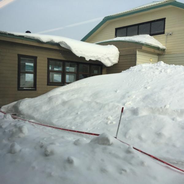 Minus 30 and a little overnight snow at Sakhalin International School Russia!